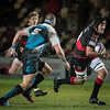 EPCR Challenge Cup match between Dragons and Enisei-STM on Friday December 8 2017 at Rodney Parade, Newport, South Wales<br /> Photographer: Simon Latham