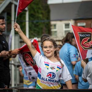 Dragons v Leinster at Rodney Parade, Guinness Pro 14 , Saturday 2 September 2017