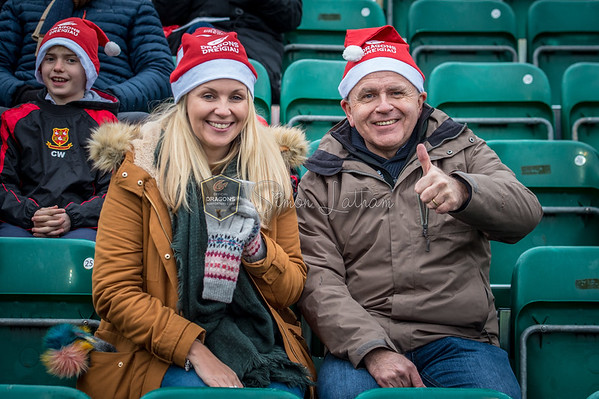 Dragons v Cardiff Blues at Rodney Parade, Guinness Pro 14 , Tuesday 26 December 2017