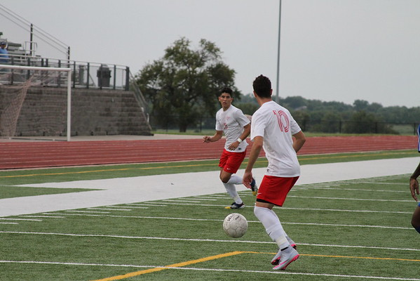 Men's Soccer 2015 Game Action