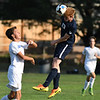 PORTLAND, OR - SEPTEMBER 14, 2017:  Jesuit Crusaders JV Men's Soccer vs. the Lake Oswego Lakers at Jesuit High School in Portland, Oregon. (Photo by Brian Murphy)
