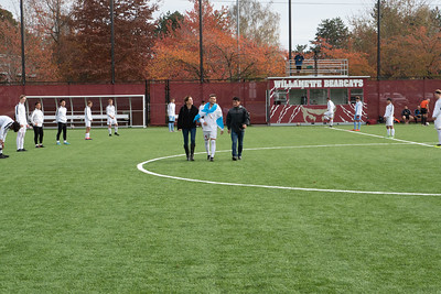 Willamette Bearcats Men's Soccer Senior Day