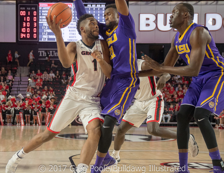 Yante Maten- Georgia vs. LSU – February 24, 2018