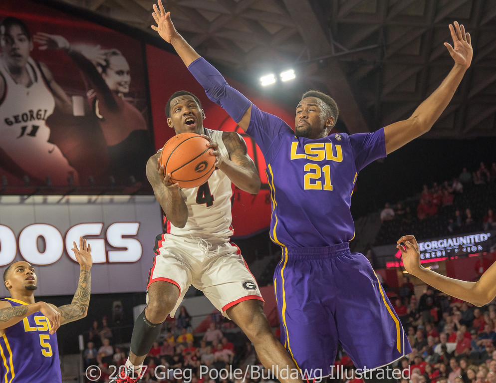 Tyree Crump- Georgia vs. LSU – February 24, 2018