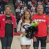 Senior night for Dance Dawgs – Georgia vs. LSU – February 24, 2018