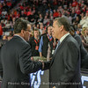 Tom Crean greets John Calipari