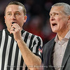 Frank Martin works the ref