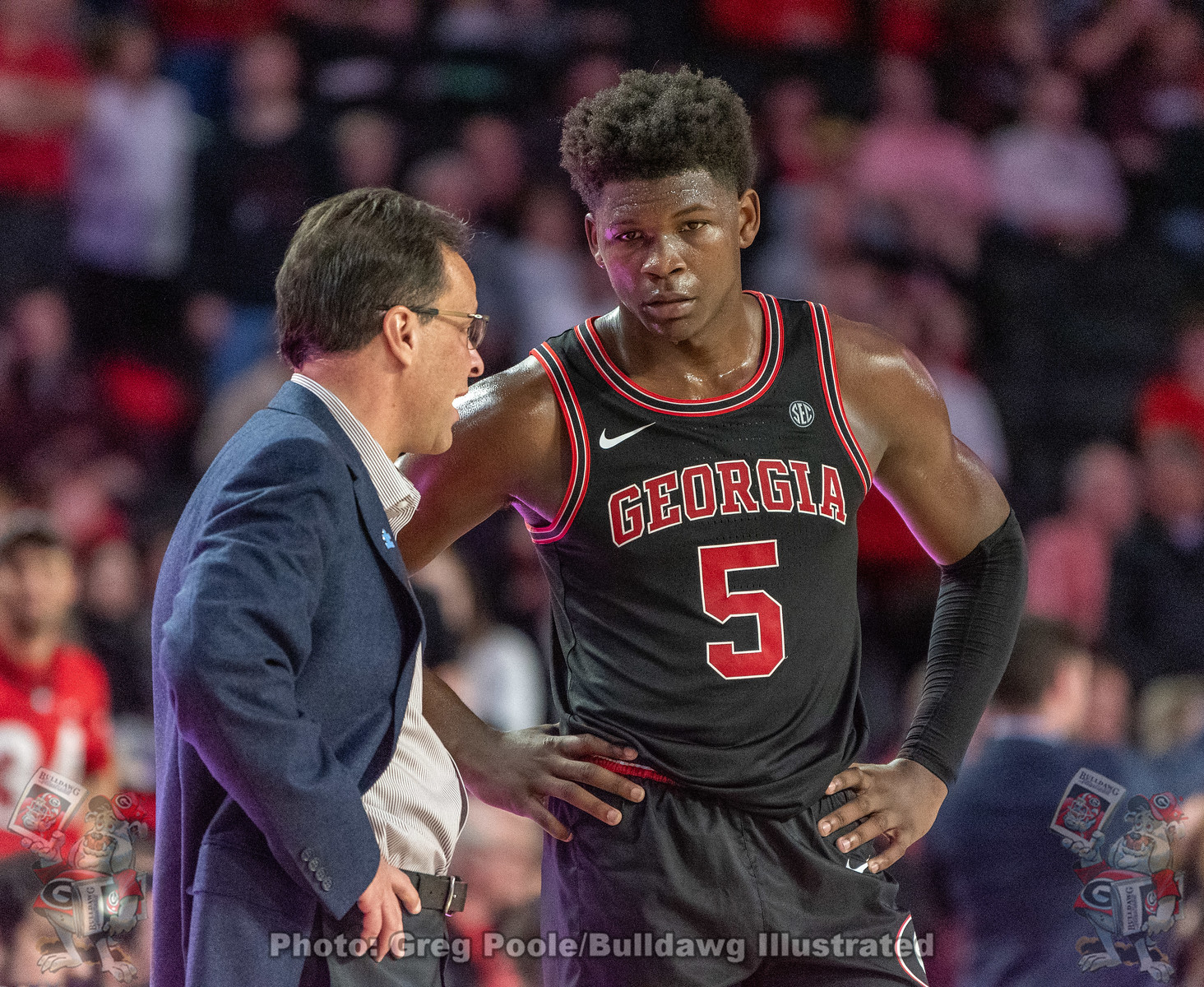 Tom Crean and Anthony Edwards
