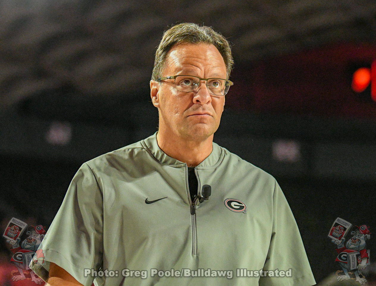 UGA men's basketball Head Coach Tom Crean at Stegmania II,  Friday, October 11, 2019