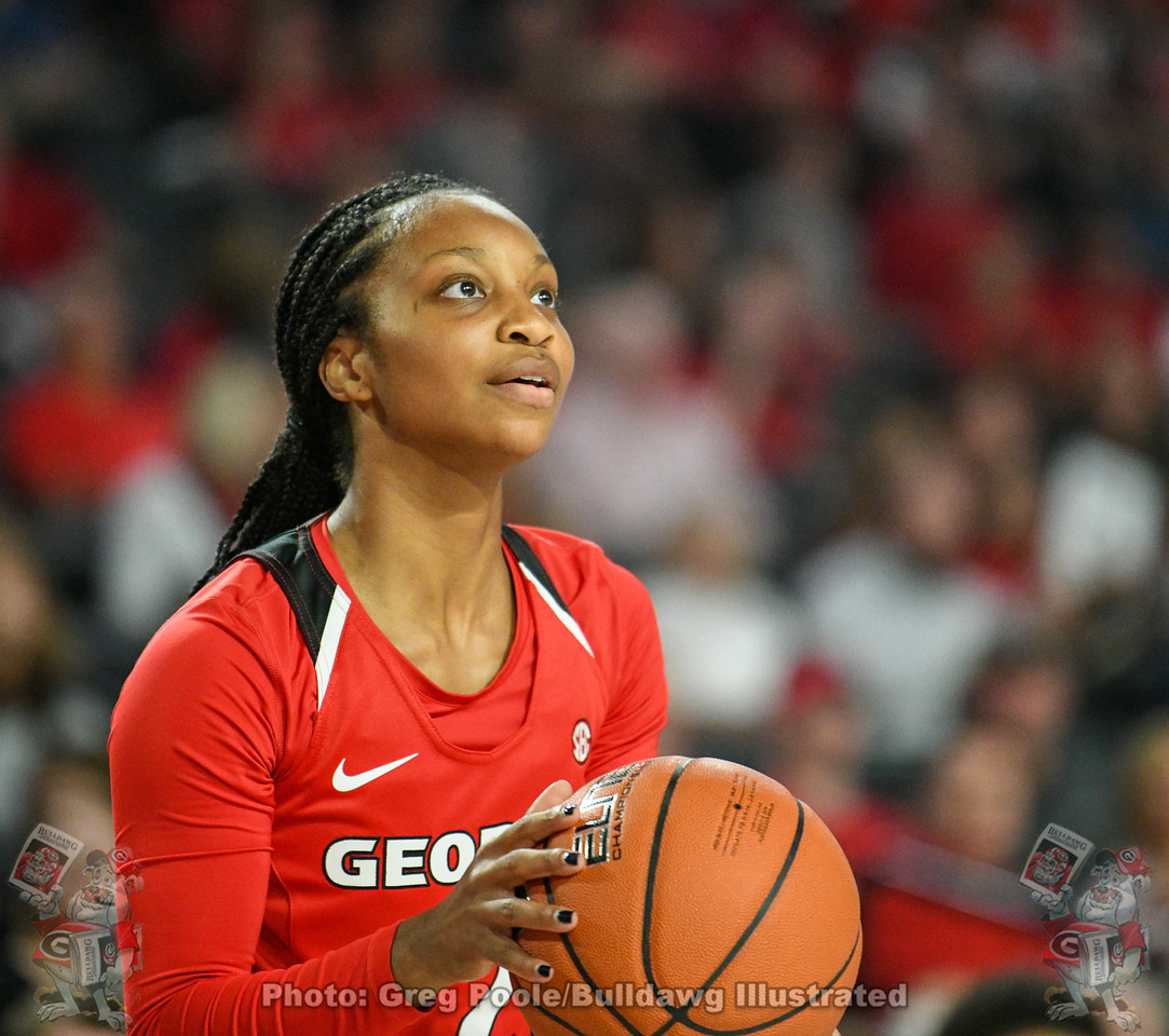 Junior Gabby Connally | UGA women's basketball team