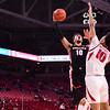Georgia basketball player Toumani Camara (10) during the Bulldogs' game at Arkansas on Saturday, Jan. 9, 2021. (Photo by Gunnar Rathbun)