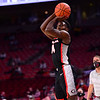 Georgia basketball player Tye Fagan (14) during the Bulldogs' game at Arkansas on Saturday, Jan. 9, 2021. (Photo by Gunnar Rathbun)