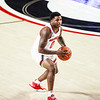 Georgia basketball player K.D. Johnson (0) during a game against Auburn at Stegeman Coliseum in Athens, Ga., on Wednesday, January 13, 2020. (Photo by Tony Walsh)