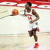 Georgia basketball player Tye Fagan (14) during a game against Florida at Stegeman Coliseum in Athens, Ga., on Saturday, January 23, 2021. (Photo by Tony Walsh)