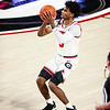 Georgia basketball player Justin Kier (5) during a game against Kentucky at Stegeman Coliseum in Athens, Ga., on Wednesday, January 20, 2021. (Photo by Tony Walsh)