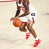 Georgia basketball player K.D. Johnson (0) during a game against Kentucky at Stegeman Coliseum in Athens, Ga., on Wednesday, January 20, 2021. (Photo by Tony Walsh)