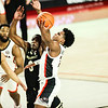 Georgia basketball player Sahvir Wheeler (2) during a game against Vanderbilt at Stegeman Coliseum in Athens, Ga., on Saturday, Feb. 6, 2021. (Photo by Tony Walsh)