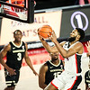 Georgia basketball player Andrew Garcia (4) during a game against Vanderbilt at Stegeman Coliseum in Athens, Ga., on Saturday, Feb. 6, 2021. (Photo by Tony Walsh)