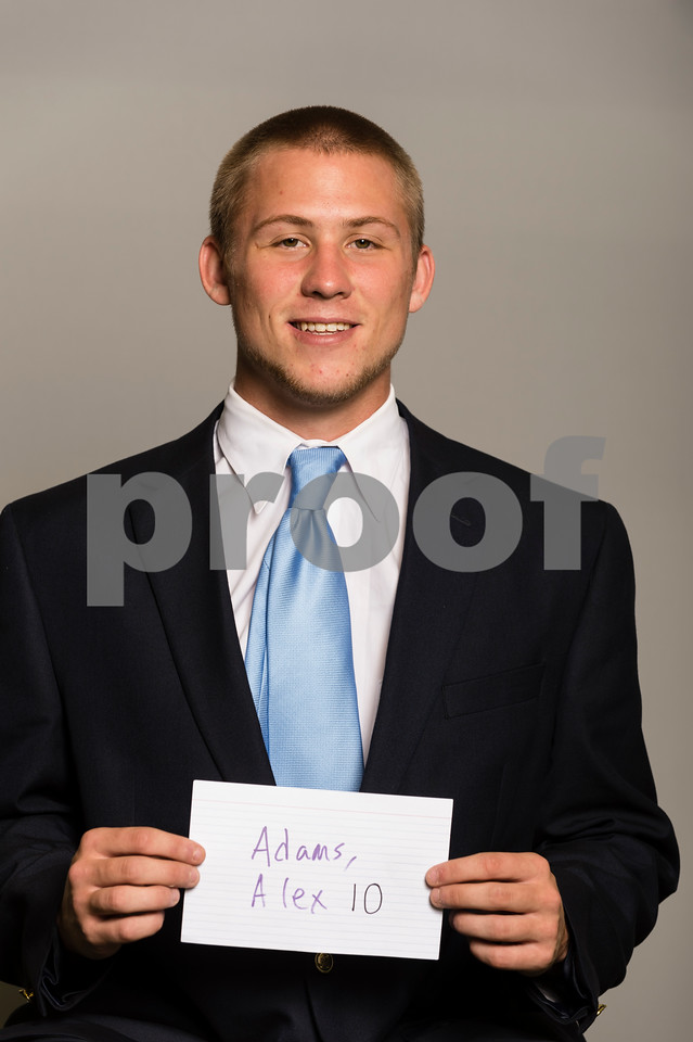 2013 Football Head Shots