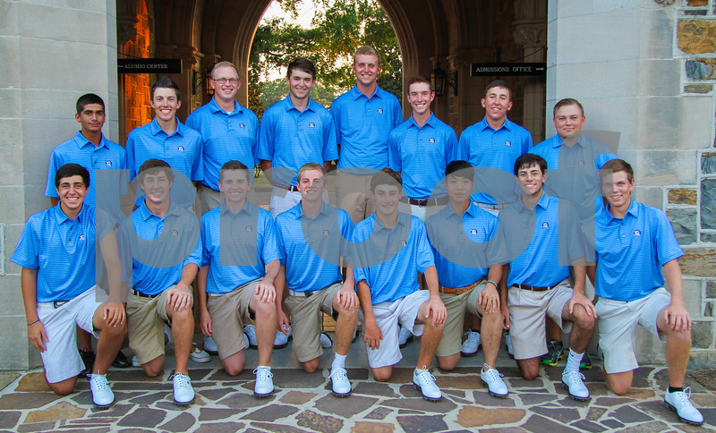 Men's Golf Team Shot 2013 CH