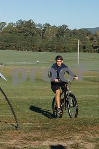 Jarod Deaton leads the race