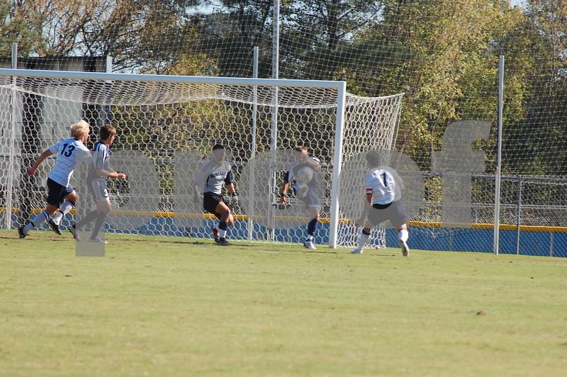 Men's Soccer v. Reinhardt 10-20-09 MM