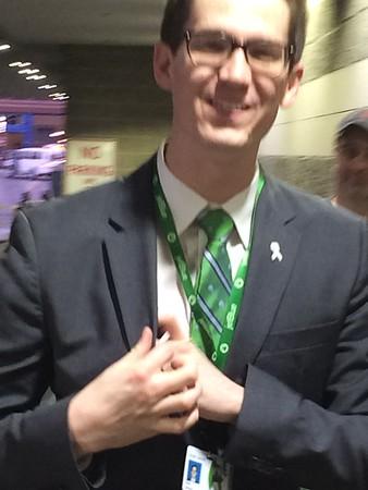 White Ribbon Night at the Boston Celtics 2016