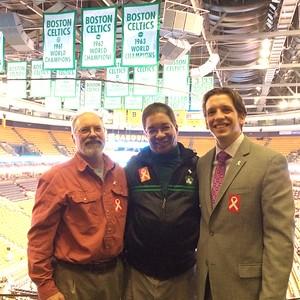 White Ribbon Day at the Celtics 2015