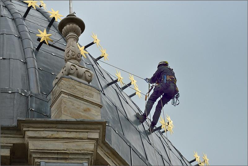 Monumentenwacht Vlaams Brabant op de koepel