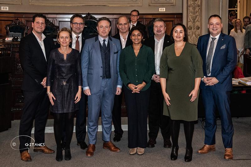 college van burgemeester en schepenen 2019