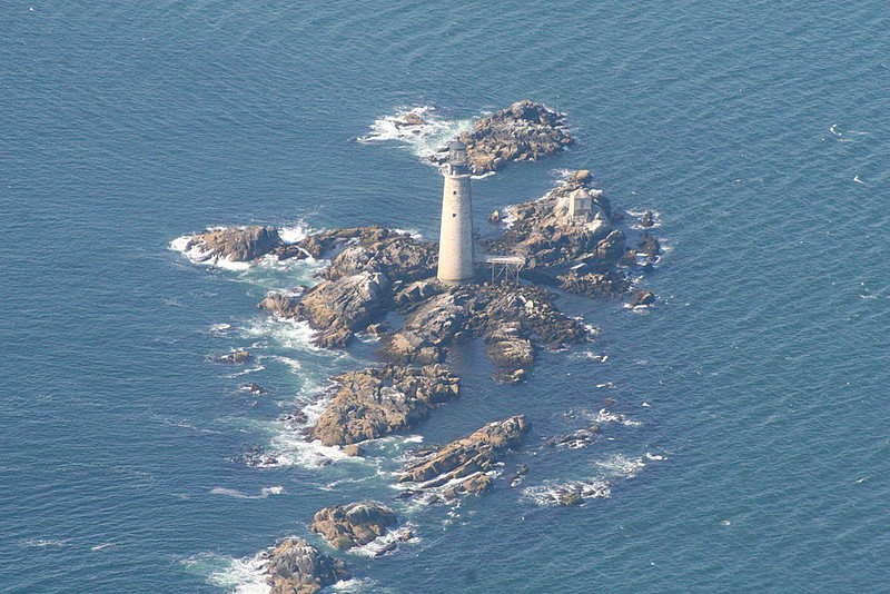 Lighthouse from the plane