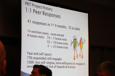 A presentation by members of the Peer Response Team - a peer support and treatment group that provides direct services for people suffering hoarding challenges.    Mental Health Association of San Francisco, http://www.mentalhealthsf.org/programs/prt/