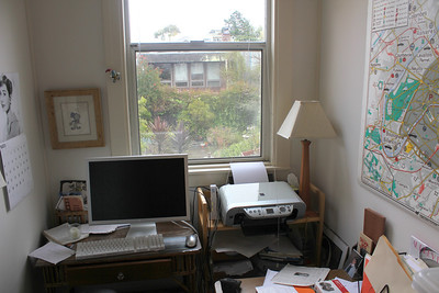 Garden view from the San Francisco home of Jim Van Buskirk, also this segment's interviewer. ________________________________________________________________________________________ Filming at the home of Jim Van Buskirk, San Francisco, on March 19th, 2011.  Jim also served as the interviewer for this segment.