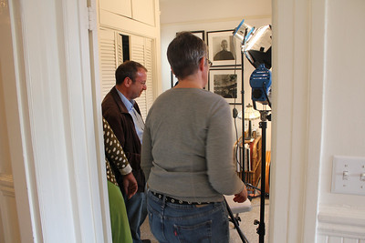 Alex Goldenberg. Amy Demmon. ________________________________________________________________________________________ Filming at the home of Jim Van Buskirk, San Francisco, on March 19th, 2011.  Jim also served as the interviewer for this segment.