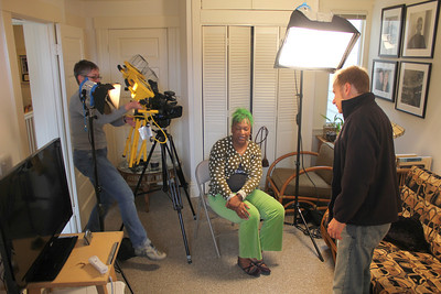 Amy Demmon. Idell Wilson. Patrick Sosa. ________________________________________________________________________________________ Filming at the home of Jim Van Buskirk, San Francisco, on March 19th, 2011.  Jim also served as the interviewer for this segment.