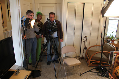 Amy Demmon, Idell Wilson, Alex Goldenberg. ________________________________________________________________________________________ Filming at the home of Jim Van Buskirk, San Francisco, on March 19th, 2011.  Jim also served as the interviewer for this segment.