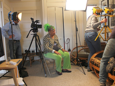 Alex Goldenberg, Idell Wilson. Amy Demmon. ________________________________________________________________________________________ Filming at the home of Jim Van Buskirk, San Francisco, on March 19th, 2011.  Jim also served as the interviewer for this segment.