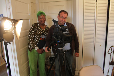Idell Wilson, Alex Goldenberg. ________________________________________________________________________________________ Filming at the home of Jim Van Buskirk, San Francisco, on March 19th, 2011.  Jim also served as the interviewer for this segment.