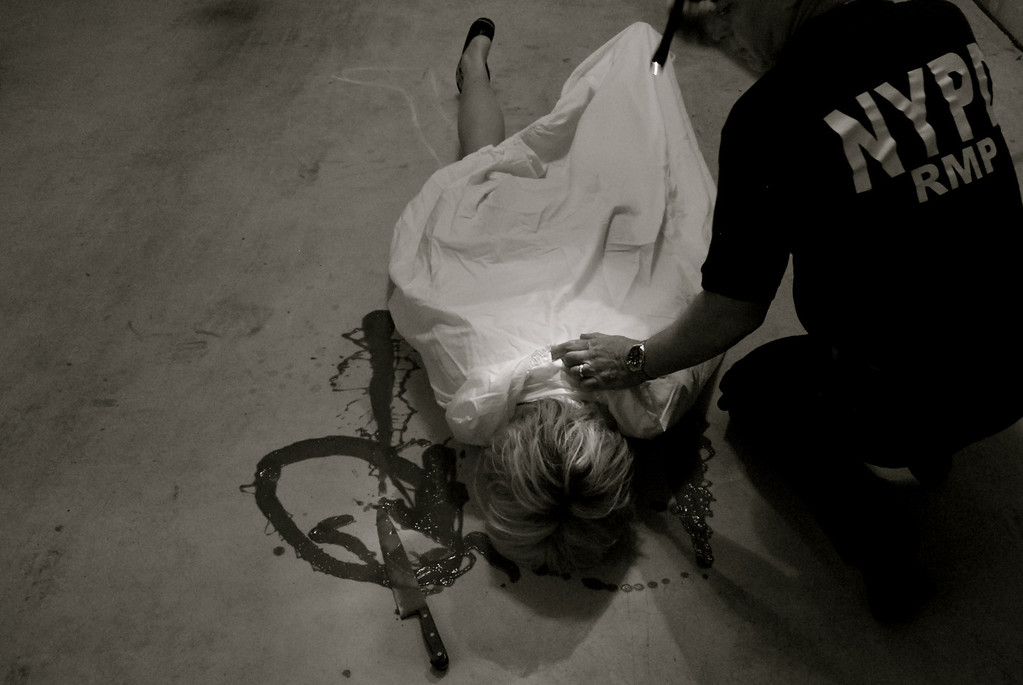 This photo was a finalist in a weekly photo contest. The subject was Sin.<br /> It was titled 'First Degree Murder'