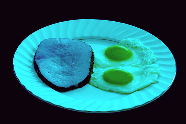 This photo was a finalist in a weekly  photo contest. The subject was Green.  It was titled 'Green Eggs and Ham'