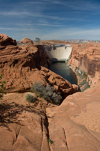 Glen Canyon Dam, Lake Powell, AZ