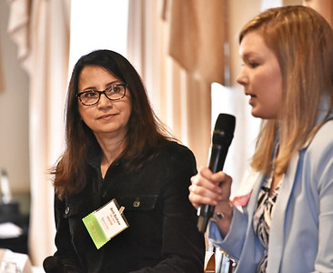 Moderator Beth Beshaw, Market President Albany/Capital Region, M&T Bank and Judi Gabler, NYS Real Estate Broker/Owner, Gabler Realty, LLC