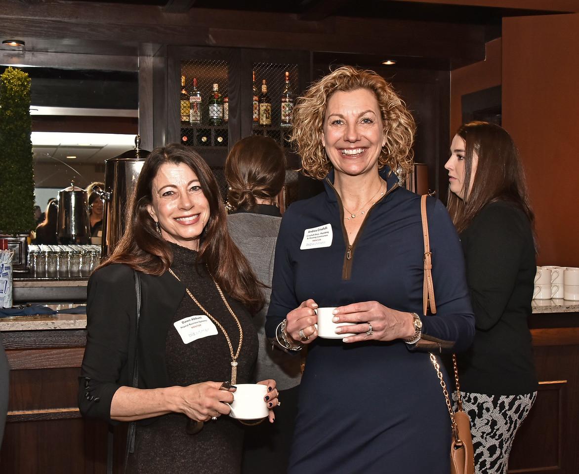 Dawn Abbuhl, President, Repeat Business Systems, Inc. and Andrea Crisafulli, President, Crisafulli Bros. Plumbing & Heating Contractors, Inc.