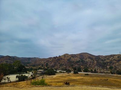 Santiago Canyon Road.