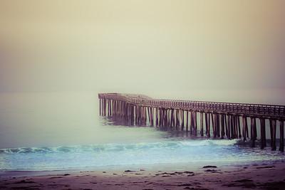 The Pier At Pismo Beach, California