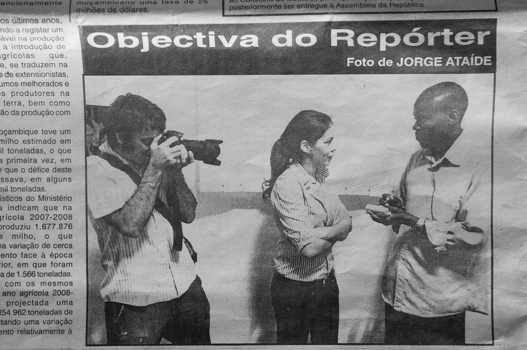 """2010-19 Beira - Published in the Newspaper """"Diario de Mocambique""""."""