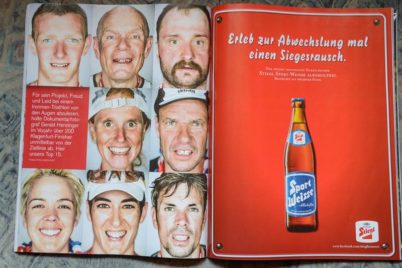 """2013-06: """"SportMagazin"""" publishes the IRONFACES"""