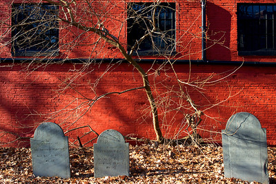Graveyard in Salem Massachusetts