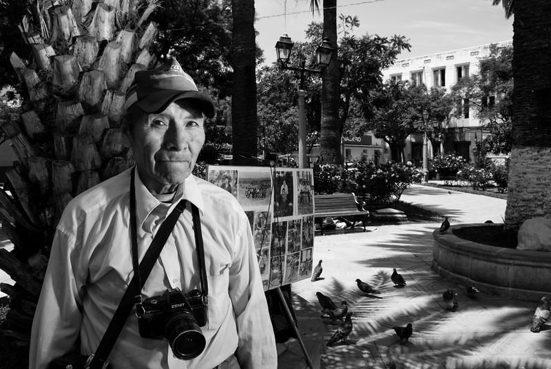 The photographer of tarija