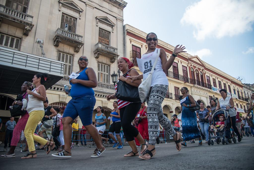 Olympischer Laufevent in Havanna